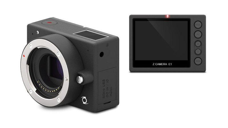 Z Camera E1 機身前後的介面布局非常簡約。