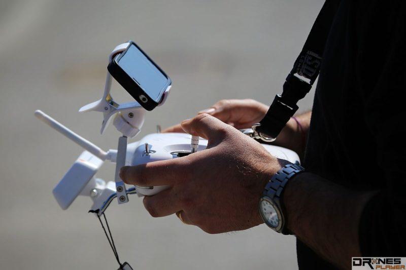 無人機的無線遙控訊號容易受極端天氣干擾。