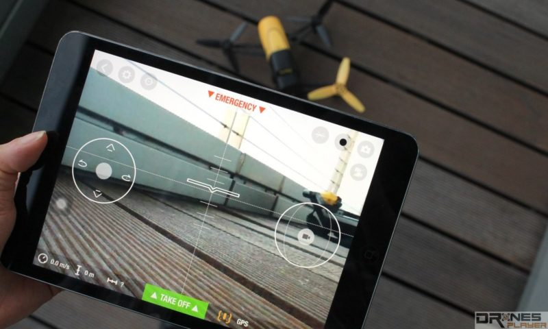 Parrot Bebop Drone 可用《Freeflight 3》app 操控