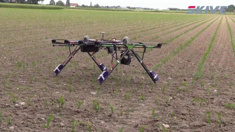 SKIVE Powerline Hybrid UAV 高 1.5 米。