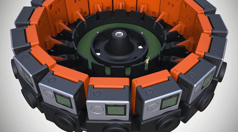 GoPro Odyssey 是由 16 部 GoPro HERO 4 Black 組合而成。