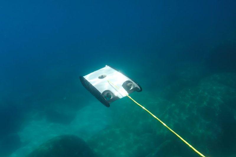 OpenROV Trident 最深可潛 100 米。
