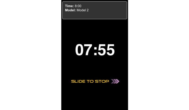 航拍玩家可選擇以順時或倒數方式進行計時。
