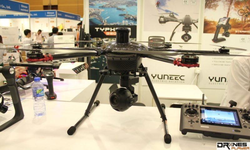 InterDrone 2015 上首發的  Yuneec Tornado H920 終於在香港正式亮相。