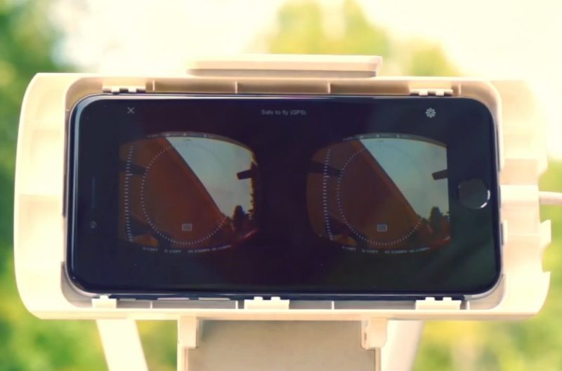 智能電話擔任 VR 眼鏡的屏幕和方向感應器