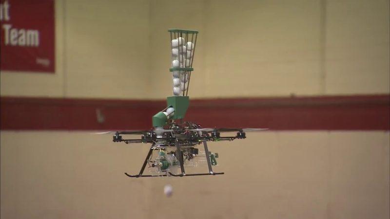 UNL 無人機投放火彈,適當生火,協助保育