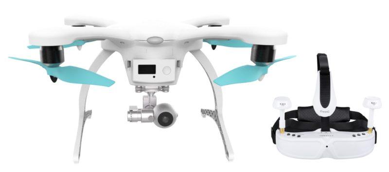 Ghost Drone 2.0 提供黑白兩色