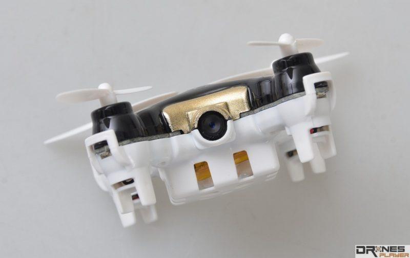 Cheerson CX-10C機前方設有 30 萬像素航拍鏡頭,支援拍照及攝錄。