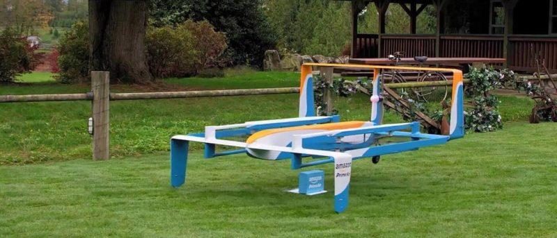 亞馬遜 無人機 送貨 Prime Air
