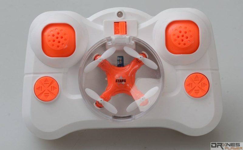 DHD D1 Drone 的遙控器可收納整部迷你無人機。