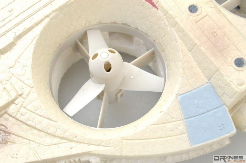 星戰千歲鷹號槳翼使用三葉式設計。