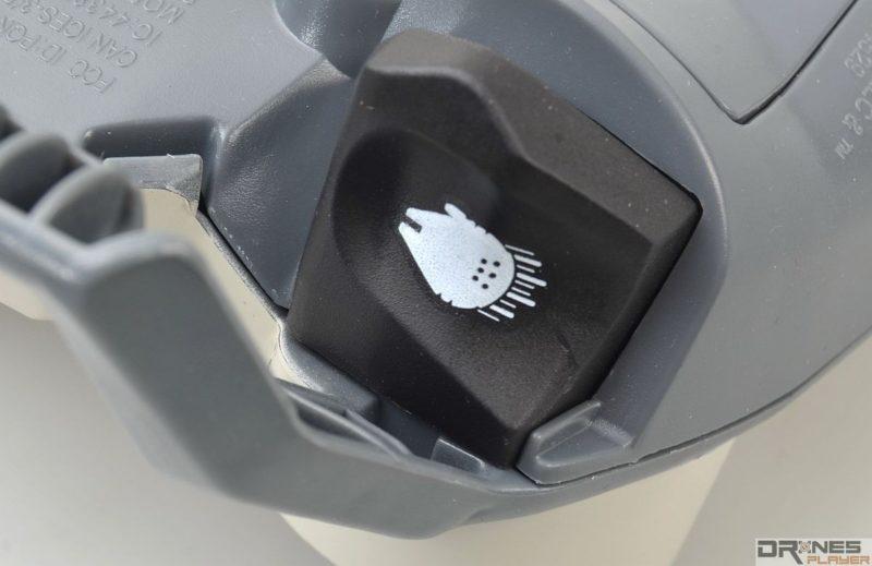 控制器右上角設加速鍵。