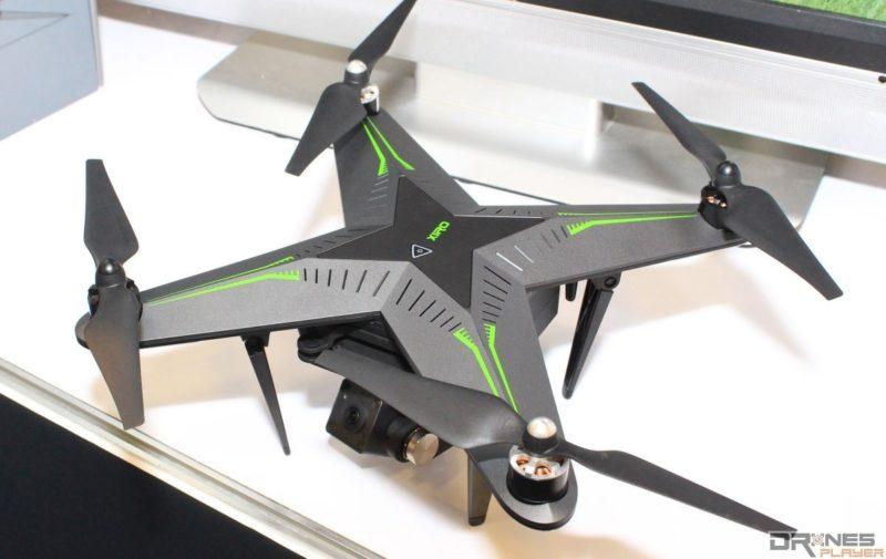 104 資訊月台北場上另有展出 Xiro Xplorer G 空拍機,具有 5200mAh 大容量電池,可供連續飛行 25 分鐘。