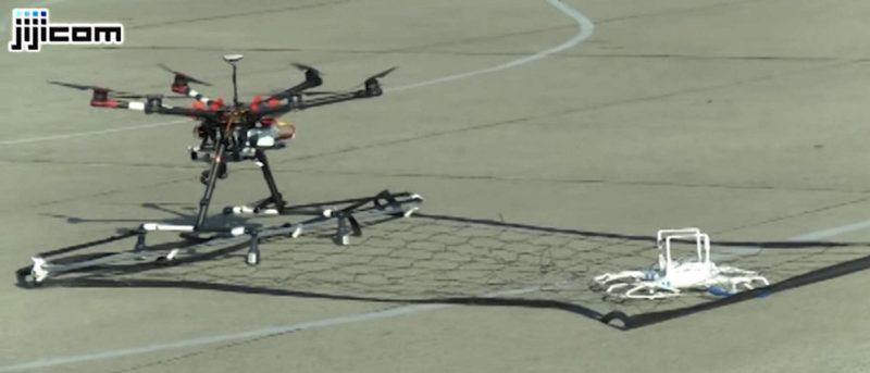 日本警察捕獲無人機