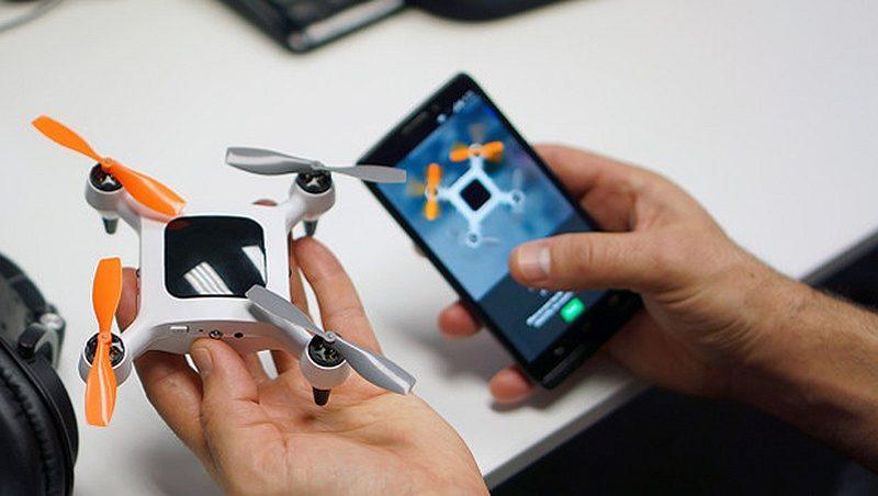 廠方強調,ONAGOfly 航拍機已可支援包括 iPhone 6s 在內的智能手機。