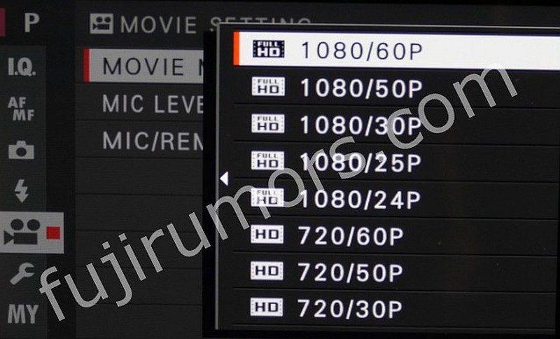 Fujifilm X-Pro 2 可攝錄 1,920 x 1,080 @ 60fps 的全高清影片