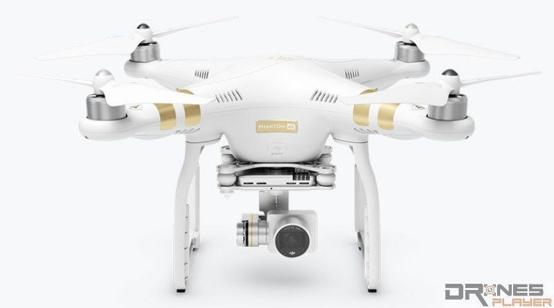正面看 DJI Phantom 3 4K ,還以為是 Phantom 3 Professional。
