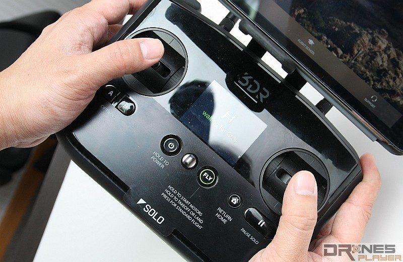 雙手手指盡量不要離開控制桿,可減少彈桿的問題。