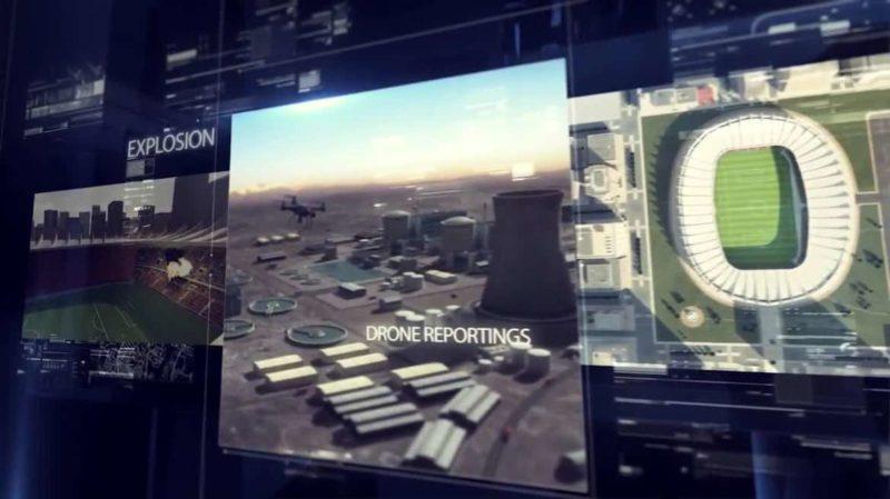 Falcon Shield保護核電站及足球場館等設施免遭無人機襲擊。