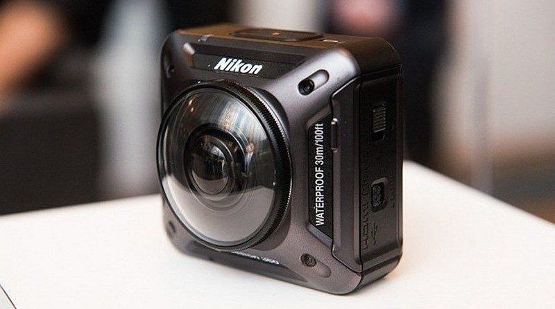 Nikon Keymission 360 運動相機無須加裝防水殼,已可防水 30 米。