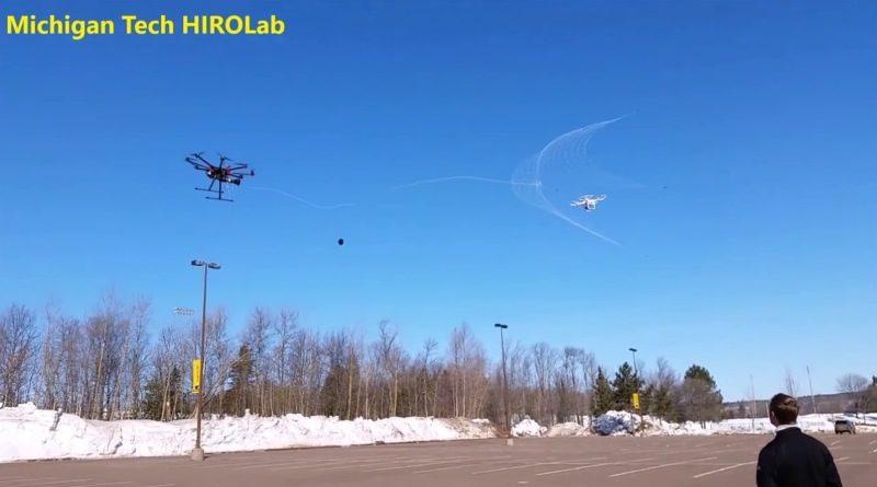 Robotic Falconry 發射繩網捕捉無人機