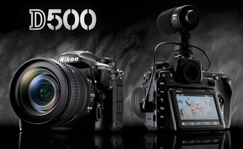 Nikon D500 可支援 4K 級數的超高清攝錄。