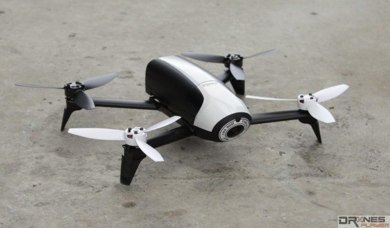 Parrot Bebop 2 的流線而圓潤的設計風格,在芸芸無人機中可說是頗突出。