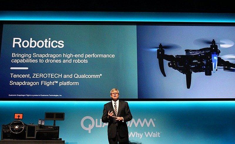 Qualcomm 執行長 Steven Mollenkopf 在 CES 2016 上宣布,該公司跟騰訊和零度智控合作,推出名為「Ying」的無人機。