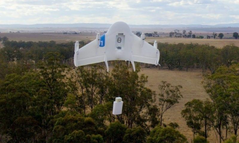 Google 的 Project Wing 研發送貨無人機。