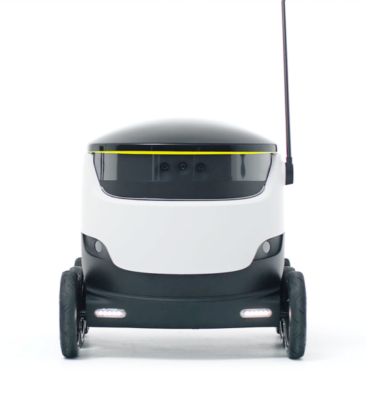 Ground Drones 無人車外形可愛,討人喜歡。