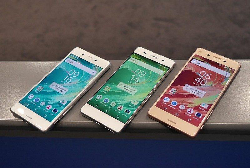 Sony Xperia X 系列三部新機 X Performance、X、XA。