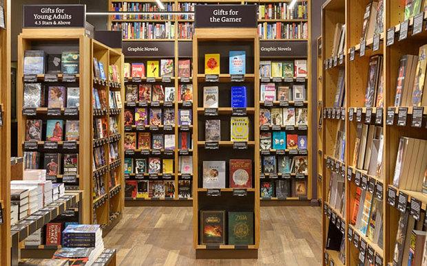 亞馬遜早前在西雅圖開設旗艦書店。