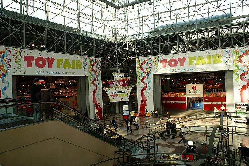 假美國紐約舉行的 Toy Fair 2016 是玩具界的盛事。