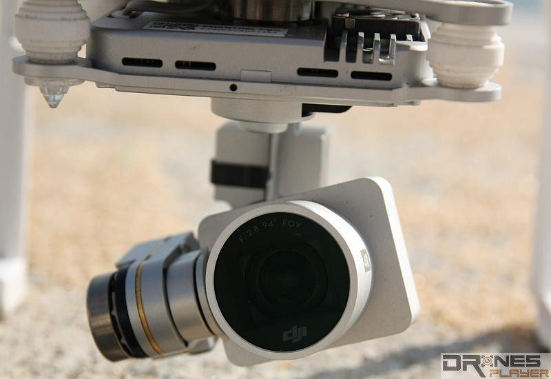 P3 Professional 預載的航拍相機可拍攝 4K 級數超高清影片。
