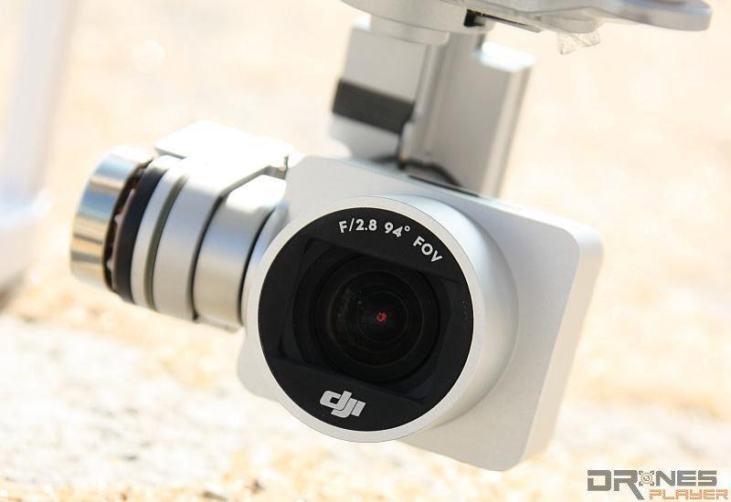 P3 Standard 航拍相機的的鏡頭外形設計跟 P3 Professional 極為相像,但只可拍攝 2.7K 影片。