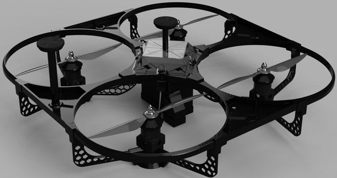 Freebird 的機身提供堅固的耐撞性能。