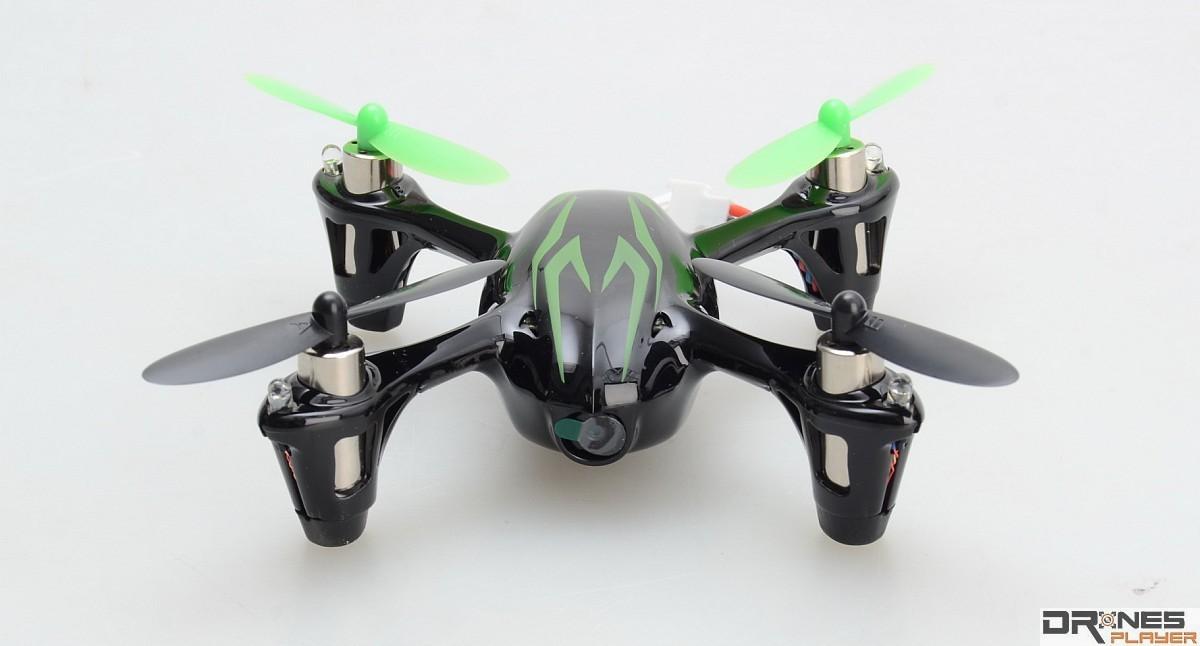 Hubsan X4 camera 機首設有 200 萬拍攝像素的航拍鏡頭。