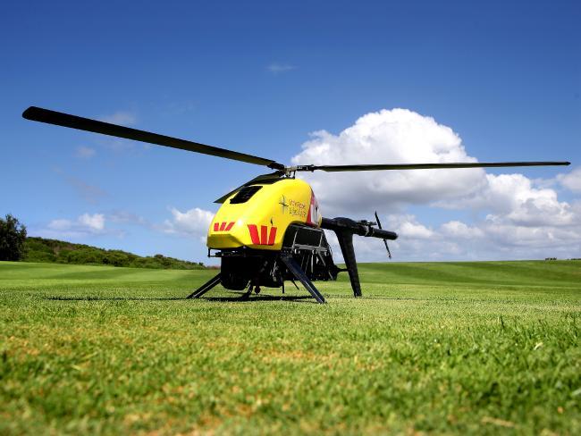 救生無人機 Little Ripper 協助監測澳洲海岸線。