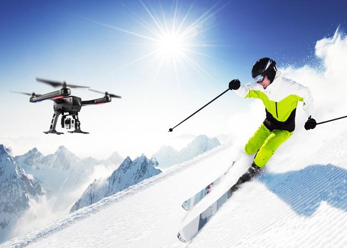 Flypro Xeagle 以運動航拍為賣點。