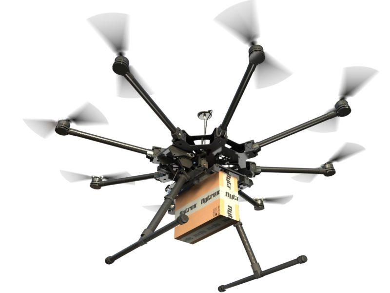 Flytrex 無人機送貨可節省時間和成本。