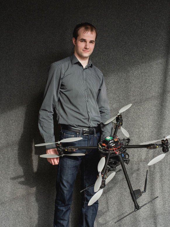 Nils Rodday 宣稱能黑入荷蘭警察的無人機。