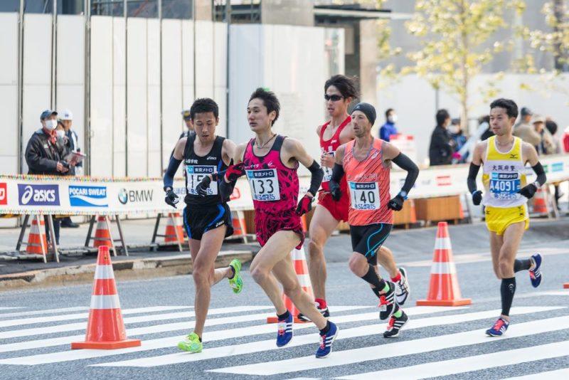 東京馬拉松在無人機嚴密監察下順利完成。