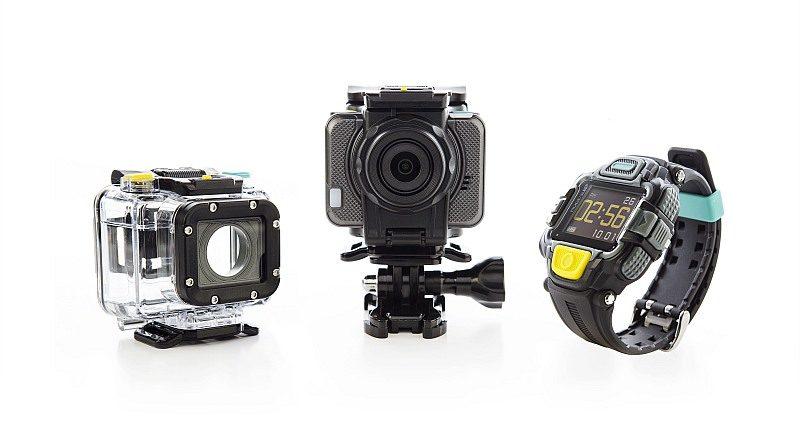 FPV 穿越機上所用的航拍相機,乃由英國電訊商 EE 所推出的 4GEE 運動相機。