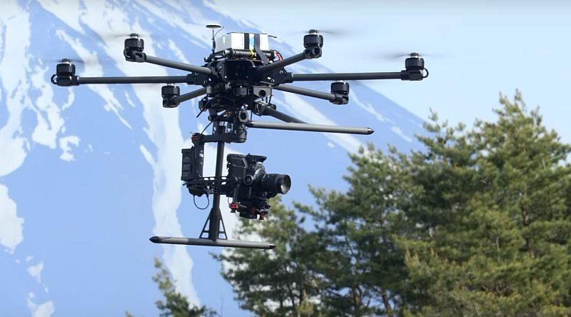 Canon EOS C300 Mark II 已被應用於專業航拍範疇。
