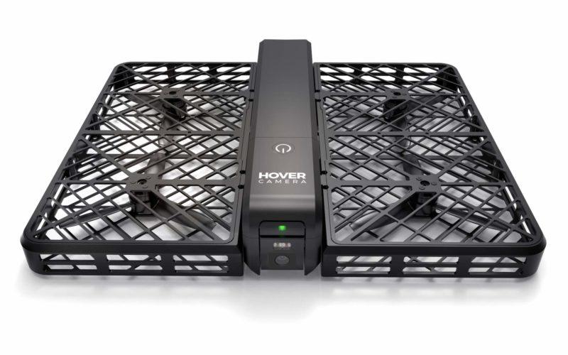 Hover Camera 碳纖維機身耐用耐撞,完全收納槳翼在內,保障用家安全