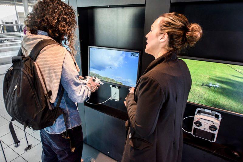 Yuneec 體驗中心設《UAV-Pilot》模擬器