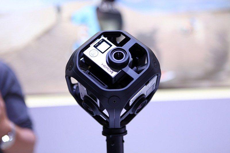 GoPro 在 2016 NAB Show 展覽會上正式推出 VR 攝影裝置 Omni。