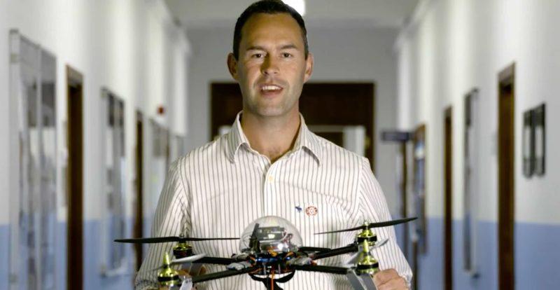 研究員希望無人機令除雷工作更安全和有效率。