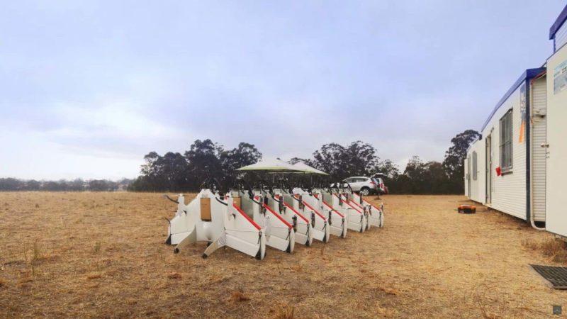 Project Wing 以往曾展示這款送貨無人機。