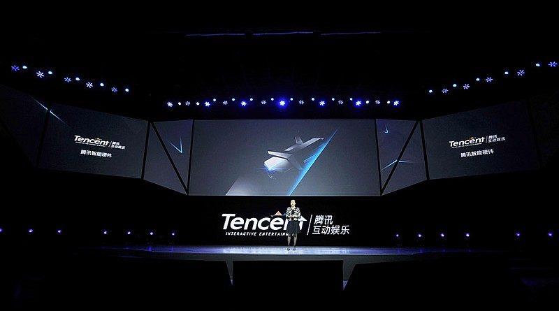 空影 YING 無人機於 3 月 25 日舉行的騰訊互動娛樂年度發布會上正式發表。